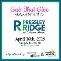#dogood Benefit for Pressley Ridge Delaware