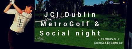 JCI Dublin MetroGolf & Social Night