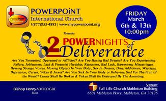 POWER WEEKEND OF DELIVERANCE & BREAKTHROUGH (1)