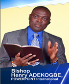 Bishop Henry ADEKOGBE, POWERPOiNT International logo