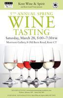 5th Annual Spring Wine Tasting