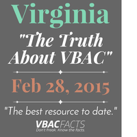 "Shenandoah Valley, VA ""Truth About VBAC"" Workshop with..."