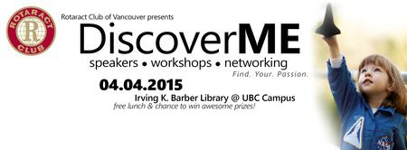 UBC Rotaract Club Presents: DiscoverME Professional...