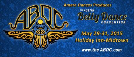 Advertisement for The Austin Belly Dance Convention...