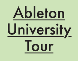 Ableton University Tour: University of Wisconsin,...