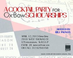 Ox-Bow Cocktail Party for SCHOLARSHIPS