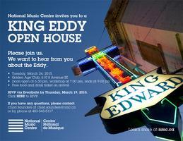 NMC invites you to a King Eddy Open House