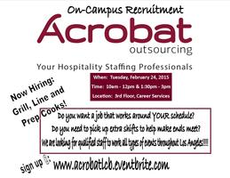 On-Campus Recruitment:  Acrobat Outsourcing...