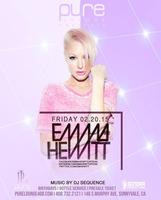 Free Guest List for Emma Hewitt at Pure Lounge