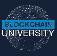 Blockchain University logo