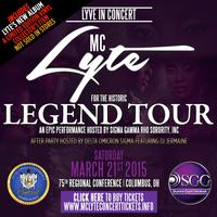 """The Historic MC Lyte """"LEGEND"""" Concert - Hosted by..."""