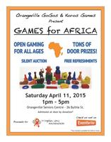 Games for Africa Fundraiser