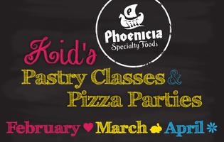 Kid's Pastry Class and Pizza Parties