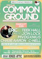 it's The Common Ground w/ Eric Tucker & more!