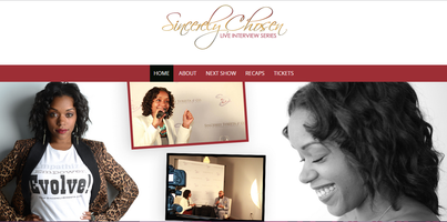 Sincerely Chosen: The Live Interview Series