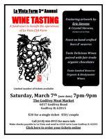 La Vista Farm Wine Tasting