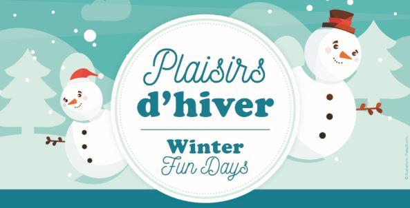 Plaisirs d'hiver 2021 Winter Fun Day
