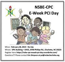NSBE-CPC E-Week 2k15 PCI Day