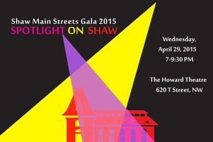 Spotlight on Shaw:  The 2015 Shaw Main Streets Gala