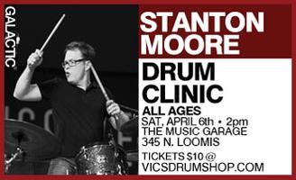 Stanton Moore Drum Clinic