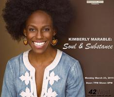 """""""Kimberly Marable: Soul & Substance"""" Live at 42West"""