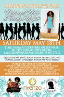 Raleigh, NC- Int'l Natural Hair Meetup Day presented...