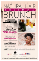 3rd Annual Natural Hair Freedom Brunch presented by...