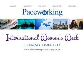 Paceworking Celebrates International Women's Day 2015...