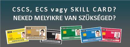 CSCS és ECS kártya kiváltása tájékoztató