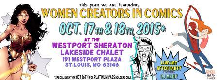 Project: Comic Con St. Louis @ The Sheraton Westport...