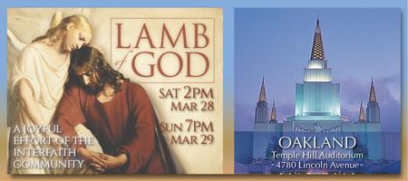 2015 LAMB OF GOD Easter Oratorio - OAKLAND