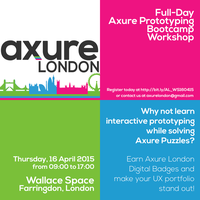 Full-Day Axure Prototyping Workshop - April 16th