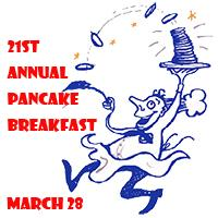 21st annual Pancake Breakfast
