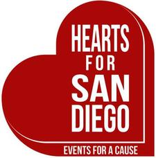 Hearts for San Diego logo