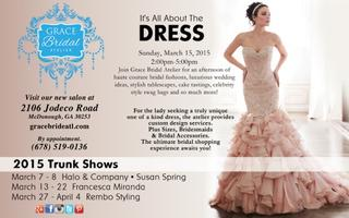 Atlanta Bridal Show - It's All About The Dress