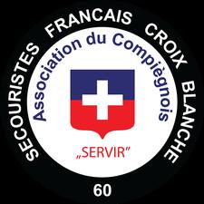 Secouristes Francais Croix Blanche du Compiegnois logo