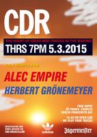 CDR Berlin with ALEC EMPIRE + HERBERT GRÖNEMEYER