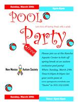 Spring Pool Party