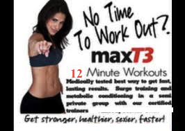MaxT3 Workout- Monthly