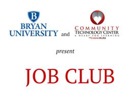 March Job Club