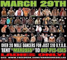MARCH 29TH BYOB MALE REVUE