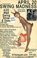 Bubbles On Fire Burlesque 420 Show 8:30 10PM at Shop &...