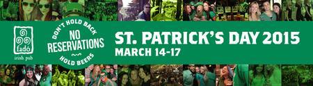 Fadó Irish Pub Atlanta St. Patrick's Day Outdoor Bash...