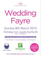 Weding Fayre Holiday Inn Leeds- Garforth