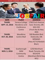 CANADA JOB & CAREER FAIR DAY  THURS OCTOBER 20 -...