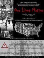 Our Lives Matter - Juvenile Law Forum