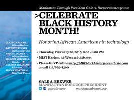 Manhattan Borough President's Black History Month...