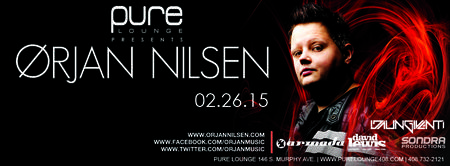 Free Guest List for Orjan Nilsen at Pure Lounge