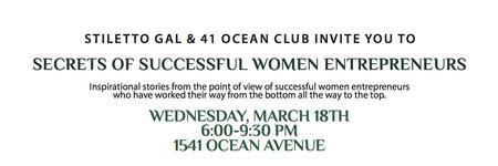 Secrets of Successful Women Entrepreneurs Featuring Liz...