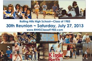 RHHS Class of 1983 30 Year Reunion